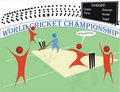 Cricket World Championship Stock Photography