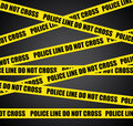 Crime scene. Stock Images