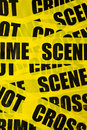 Crime scene background Stock Image