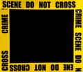 Crime scene frame or border Royalty Free Stock Photography