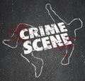 Crime Scene Violent Murder Homicide Forbidden Area