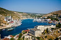 Crimea, Balaklava bay Royalty Free Stock Photos