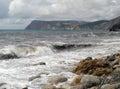 The crimean coast near balaklava black see Stock Photography