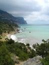 The crimean coast near cape aiya balaclava sevastopol ukraine Royalty Free Stock Photo
