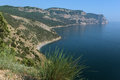 Crimean coastline near aya peninsula crimea ukraine Stock Images