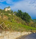 Crimean landscape near yalta city fall season Royalty Free Stock Image