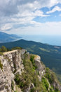 Crimean mountains Stock Image