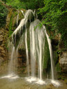 Crimean waterfall dzhur dzhur in crimea Royalty Free Stock Photos