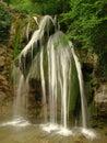 Crimean waterfall dzhur dzhur in crimea Royalty Free Stock Photos