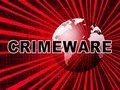 Crimeware Digital Cyber Hack Exploit 2d Illustration Royalty Free Stock Photo