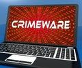 Crimeware Digital Cyber Hack Exploit 3d Rendering Royalty Free Stock Photo