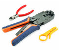 Crimper and wire cutter Royalty Free Stock Photo