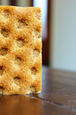 Crisp bread healthy low calorie close up Royalty Free Stock Photo
