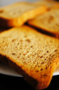 Crisp bread made of full grain Royalty Free Stock Photography