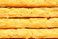 Crisp corn bread close up of Royalty Free Stock Photo