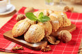 Crispy cookies Royalty Free Stock Photo