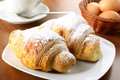 Crispy croissants Stock Photos