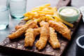 Crispy Fish And Chips, Tartar ...