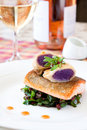 Crispy Seared Creemore Rainbow Trout Royalty Free Stock Photo