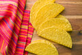 Crispy taco shells Royalty Free Stock Photo