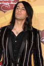 Criss angel los angeles dec arrives at the american country awards at mgm grand garden arena on december in las vegas nv Stock Photo
