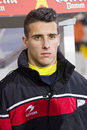 Cristian tello of catalonia national team the football beat cape verde at the annual christmas friendly match in lluís companys Stock Images