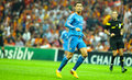 Cristiano ronaldo of real madrid in action during the champions league group b soccer match against galatasaray at turk telekom Stock Image