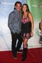 Cristin de la Fuente & Wife NBC TCA July 09 Party Royalty Free Stock Photo
