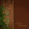Cristmas Composition Royalty Free Stock Photo