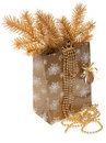 Cristmas gift package Stock Photography