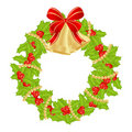 Cristmas Wreath Royalty Free Stock Photo