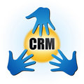 CRM Royalty Free Stock Photography