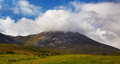 Croagh Patrick mountain Royalty Free Stock Photo