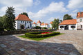 Croatia castle of varaždin is a city in north km north zagreb the centre county is located near the drava river it s mainly Royalty Free Stock Images
