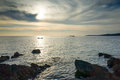 Croatia Seascape Royalty Free Stock Photo