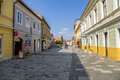 Croatia view of varaždin is a city in north km north zagreb the centre county is located near the drava river it s mainly Stock Photos