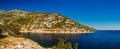Croatian coast Royalty Free Stock Photo