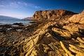 The Croatian coast - Rab Island,Lopar Royalty Free Stock Photo