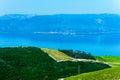 Croatian coastline along the Adriatic Sea Royalty Free Stock Photo