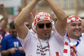 Croatian fan (Euro2012) Royalty Free Stock Photos