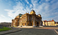 The Croatian National Theater Stock Photography