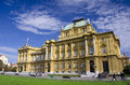 The Croatian National Theater, Zagreb Royalty Free Stock Photo