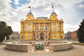 Croatian National Theatre, Zagreb, Croatia Royalty Free Stock Photo