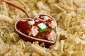 Croatian warm heart Royalty Free Stock Image