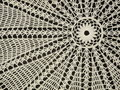 Crochet doily Stock Images