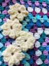 Crochet Flower Royalty Free Stock Photos