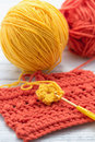 Crochet Royalty Free Stock Photo