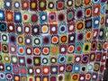Crocheted Blanket Royalty Free Stock Photo