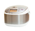 Crock pot isolated on white background Royalty Free Stock Photography
