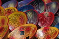 Crockery the richness of colour on south american Royalty Free Stock Image